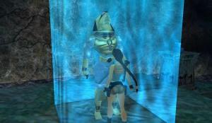 The god Horus as seen in Tomb Raider: Last Revelation