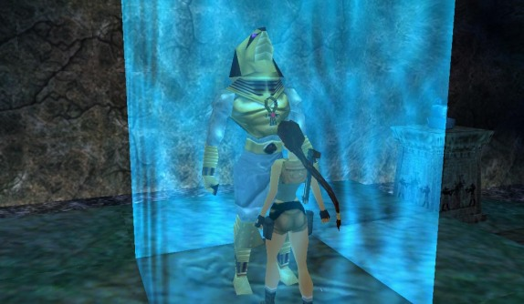 The god Horus as seen in Tomb Raider: Last Revelation
