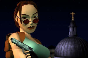 Tomb Raider 3 promo art