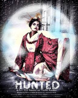 Hunted's Himiko character poster