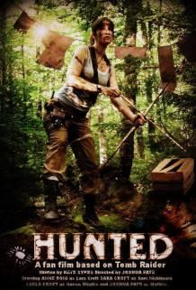 Hunted's Lara Croft character poster