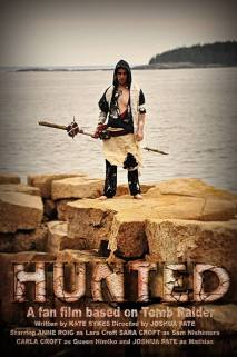 Hunted's Mathias character poster