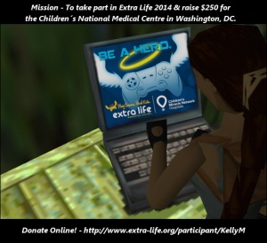 Extra Life 2014 banner