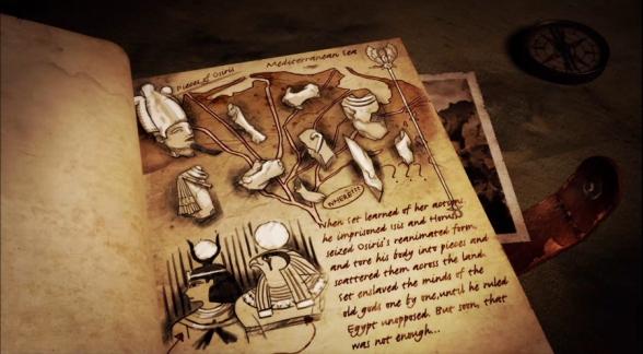 The Osiris myth as told in Lara Croft & the Temple of Osiris