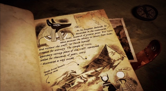 Set as seen in Lara Croft & the Temple of Osiris