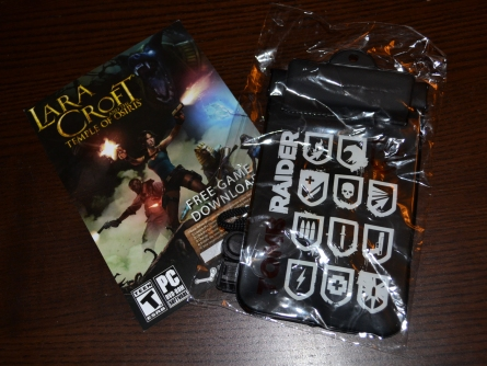 Lara Croft and the Temple of Osiris Steam code and Tomb Raider 2013 pouch