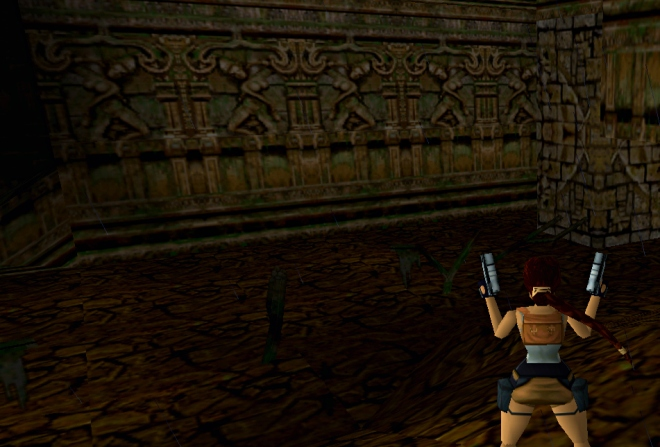 Dancers motif seen in Tomb Raider 3
