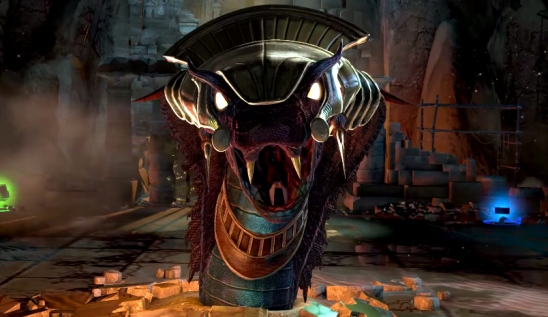 Apep as seen in Lara Croft & the Temple of Osiris