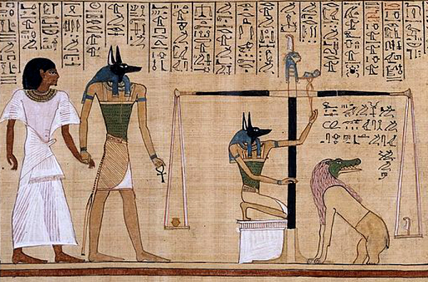 Ammit as seen on the Papyrus of Hunefer (Image credit: Wikimedia Commons)