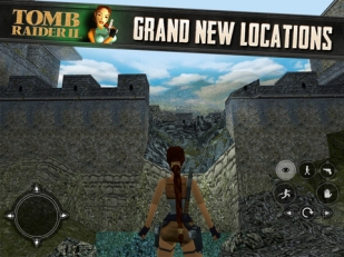 Tomb Raider 2 on iOS