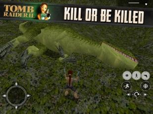 Tomb Raider 2 on iOS
