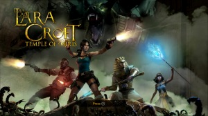 Lara Croft and the Temple of Osiris title screen