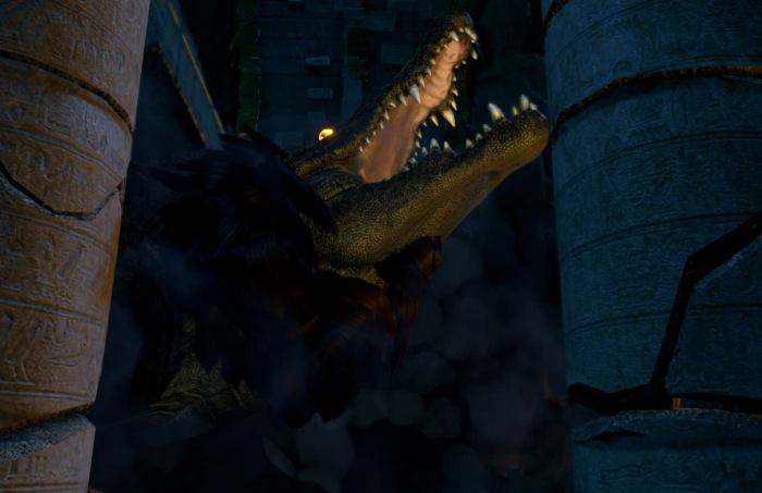 Ammit, as seen in Lara Croft & the Temple of Osiris