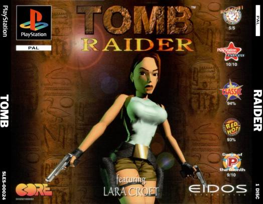 Lara Croft in her first ever adventure, the original Tomb Raider