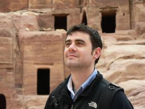 Jordan Jacobs, archaeologist and author of the Samantha Sutton series
