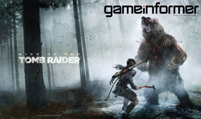 Game Informer reveals the cover for its March 2015 magazine