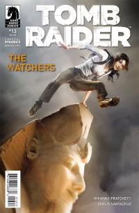 The cover art for Tomb Raider #13