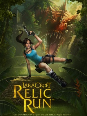 Lara Croft: Relic Run's loading screen