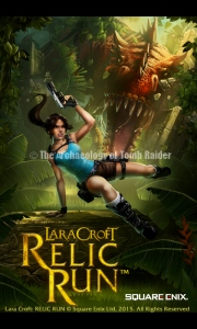 Screenshot from the Android version of Lara Croft: Relic Run