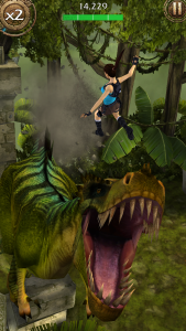 Official screenshot from Lara Croft: Relic Run