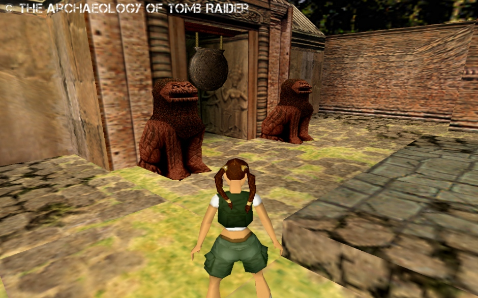Kelly M – The Archaeology of Tomb Raider