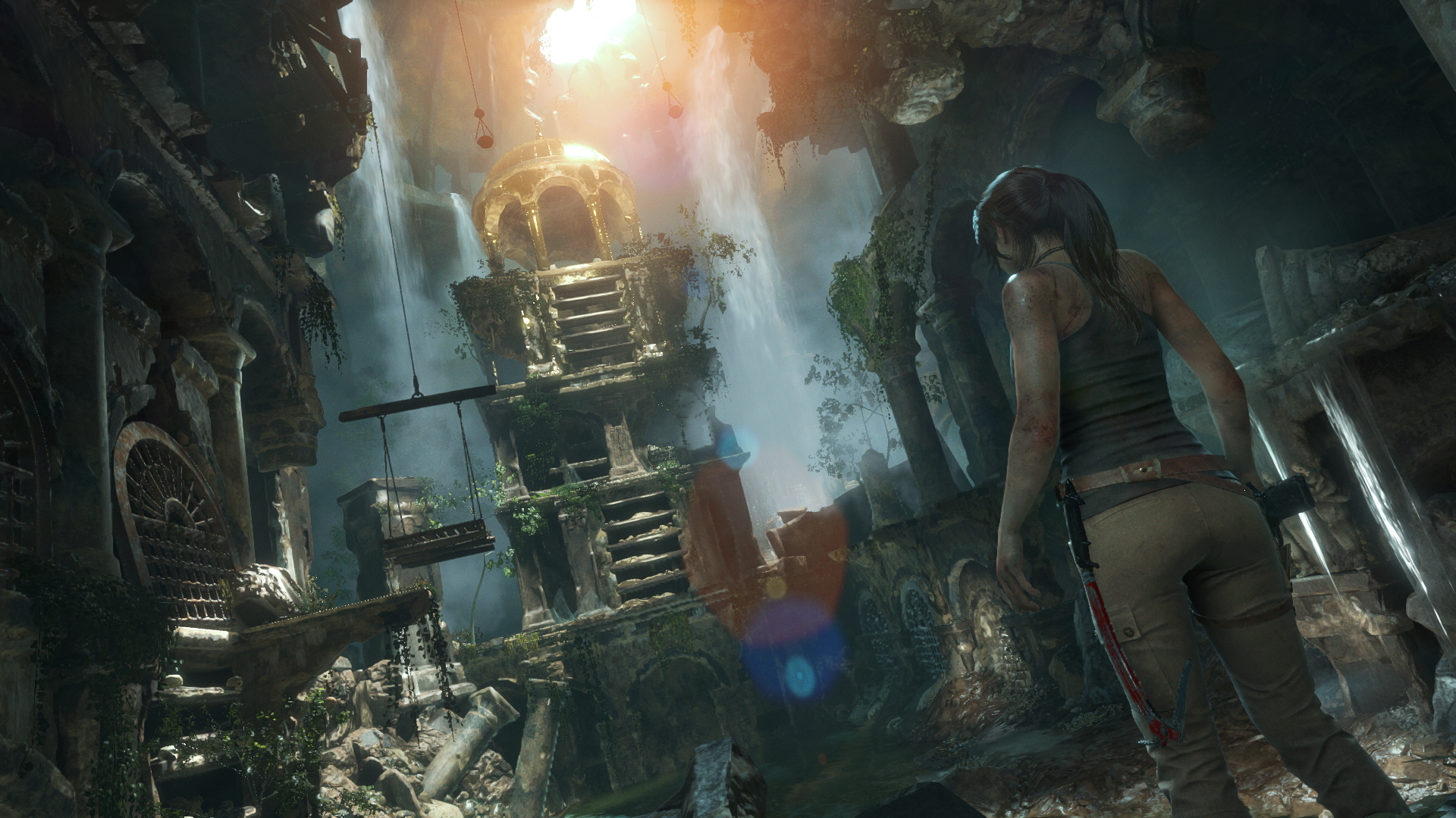 rise of the tomb raider gameplay ending relationship