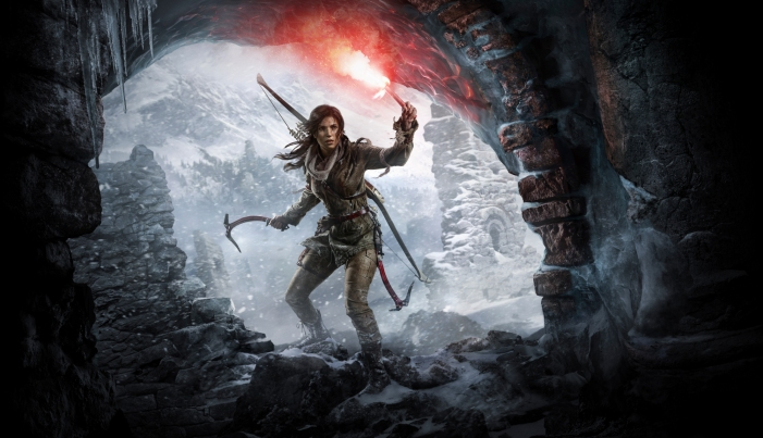Rise of the Tomb Raider Box Art Render