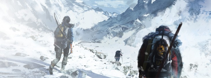 Concept art from Rise of the Tomb Raider