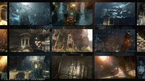 A sneak peek at Rise of the Tomb Raider's tombs, crypts, and ancient ruins