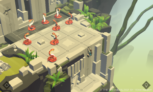 Screenshot from Lara Croft GO