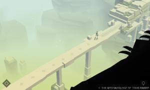 Screenshot from Lara Croft GO