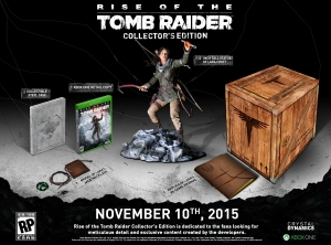 The Rise of the Tomb Raider Collector's Edition (Xbox One)