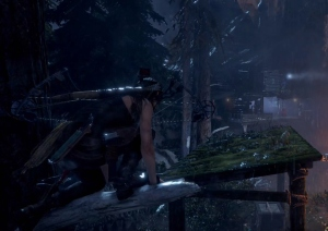 Stealthy passage through Rise of the Tomb Raider