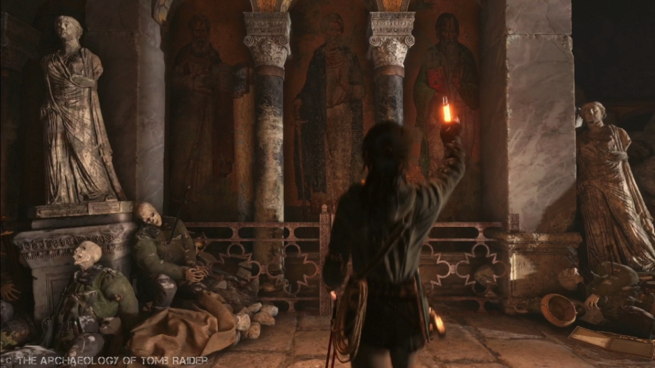 The Pantheon in Rise of the Tomb Raider
