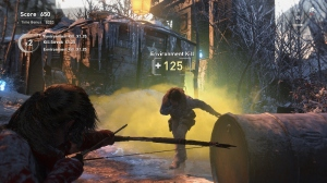 Rise of the Tomb Raider's Score Attack mode