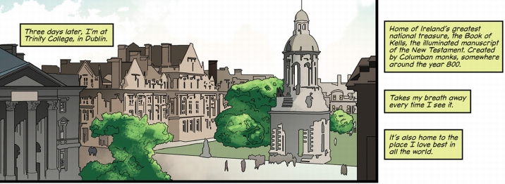 Trinity College, Dublin, as seen in Tomb Raider #2