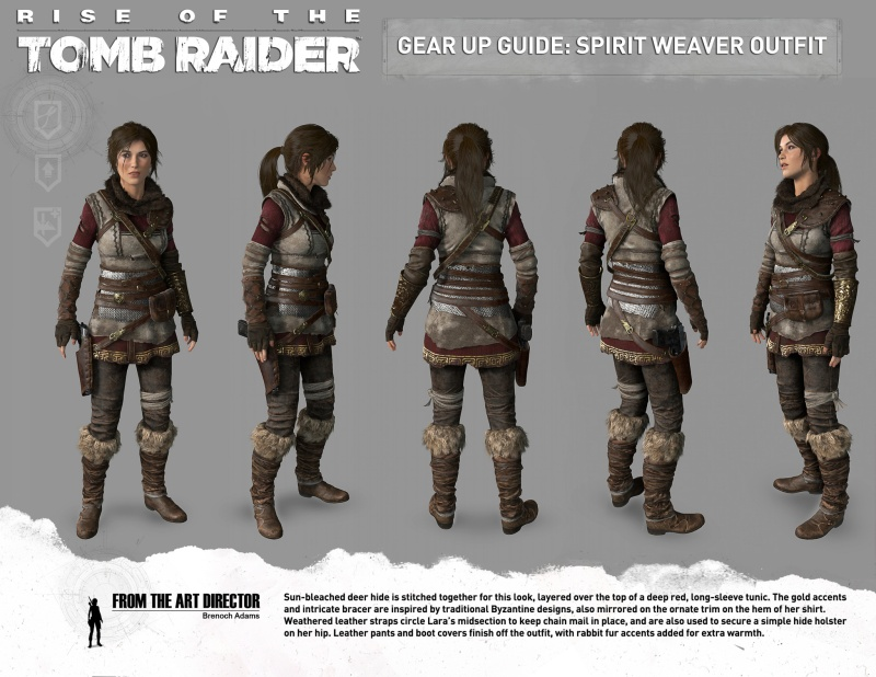 Gear Up Guide: Spirit Weaver outfit (Image credit: Crystal Dynamics)