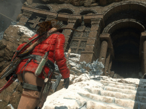 Screenshot from the PC version of Rise of the Tomb Raider