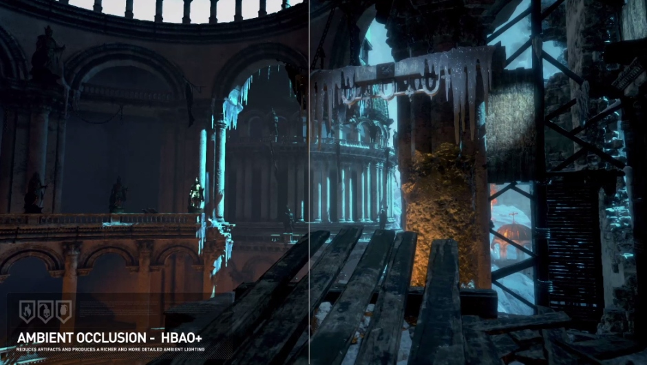 Ambient occlusion tech used in Rise of the Tomb Raider