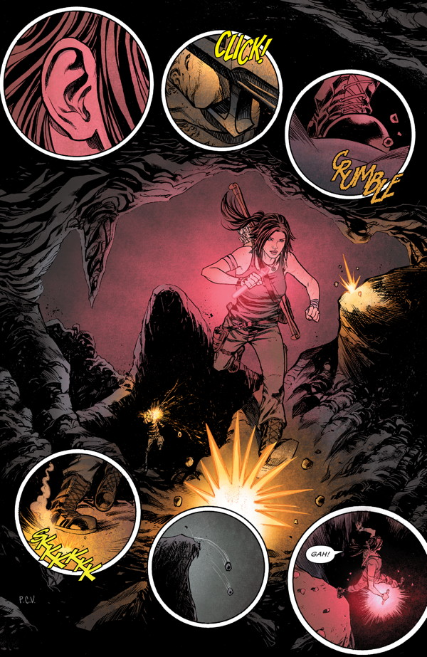 Preview of Mariko Tamaki's new Tomb Raider series