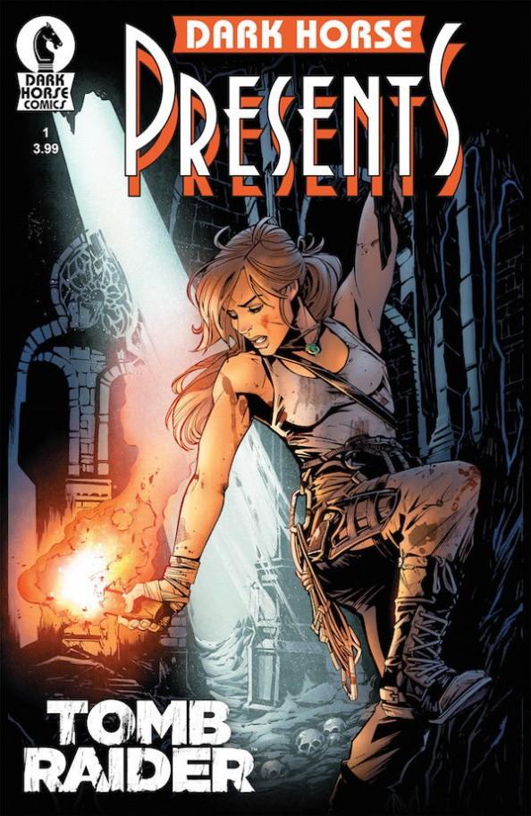 Joelle Jones' variant cover for Tomb Raider #1
