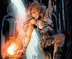 Variant cover for Tomb Raider #1