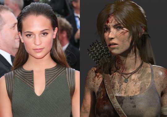 Alicia Vikander will star as Lara Croft in the upcoming 2018 reboot film