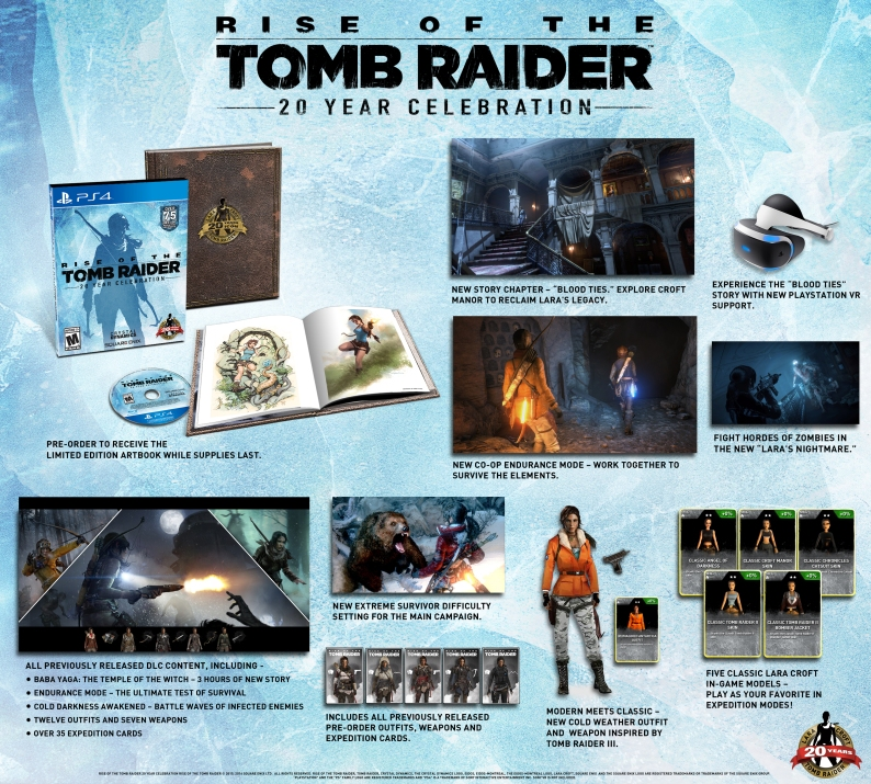 A look at the PS4 release for Rise of the Tomb Raider