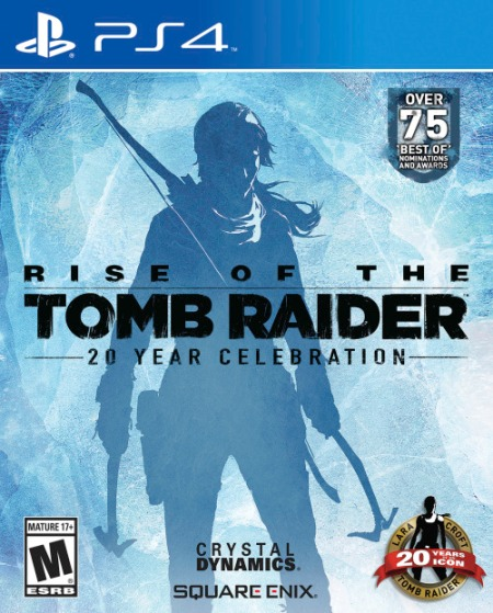 Cover art for Rise of the Tomb Raider: 20 Year Celebration for PS4