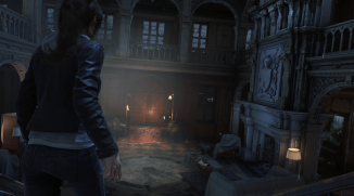 Screenshot from Rise of the Tomb Raider's 'Blood Ties' DLC (Image credit: Crystal Dynamics)