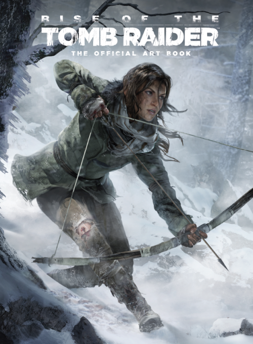 Cover art for Rise of the Tomb Raider: The Official Art Book (Image credit: Titan Books)