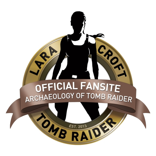 The Archaeology of Tomb Raider Official Fansite Badge
