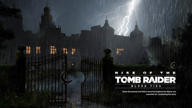 Screenshot from Rise of the Tomb Raider: 20 Year Celebration DLC, Blood Ties