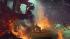 Concept art of Baba Yaga's cabin (Image credits: Crystal Dynamics)